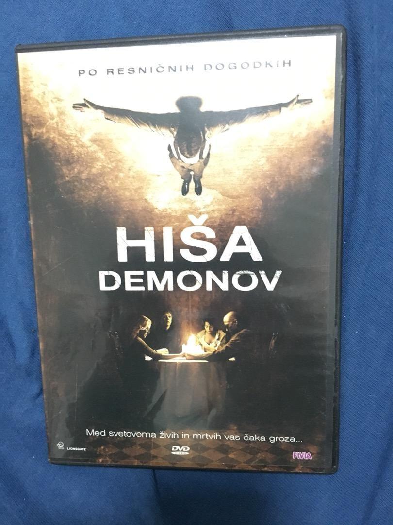 DVD FILM Hiša demonov 0