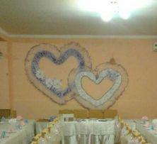 Декор на свадьбу, свадьба, украшение на стену