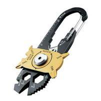 20 narzędzi w jednym - brelok / karabińczyk jak FIXR Multitool