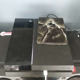 PS4 with game