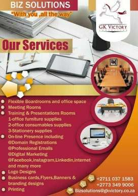 FLEXIBLE BOARDROOM, OFFICE SPACE, TRAINING & CONFERENCE CENTRE