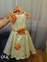 Платье осень на прокат. Продажа