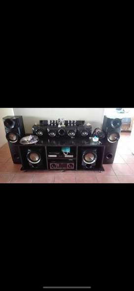 LG SOUND SYSTEM WITH AMP BARGAIN!