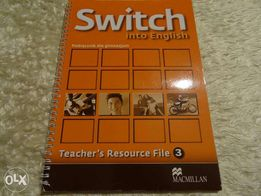 Switch into English 3 Teacher's Resource File + CD