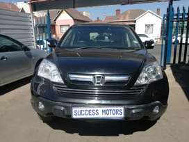 2007 Honda CRV  2.0 auto with a sunroof