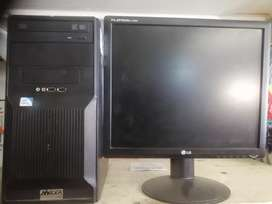 Core i5 3rd Gen pc with monitor