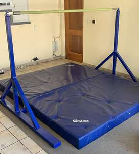 Gymnastics Bar (girls single\lower) and Mat