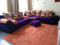 Barely used 7 seater couch + carpet *quick sale 0