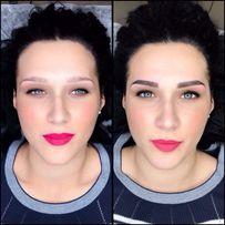 Перманентный макияж/Микроблейдинг бровей/ пудровые брови