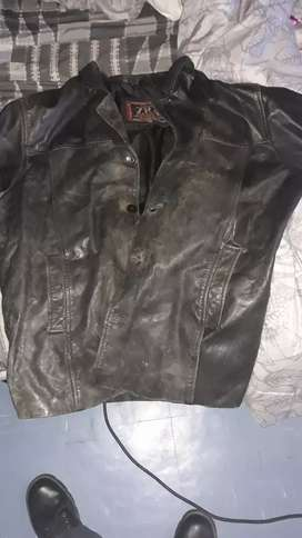 It is an leather jacket bike