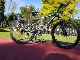 "Brand new 29""mountain bicycles for sale front shocks double disc"