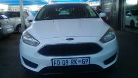 2016 Ford Focus 1.0 Eco-boost Engine Capacity with Manuel Transmission