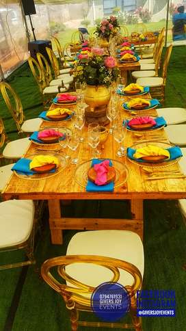 PARTIES WEDDING DECOR & CATERING