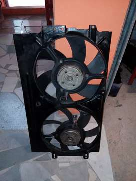 Complete VW Caddy Radiator Fans!