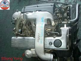 IMPORTED USED SSANG YONG OM602 TURBO ENGINE FOR SALE AT MYM AUTOWORLD