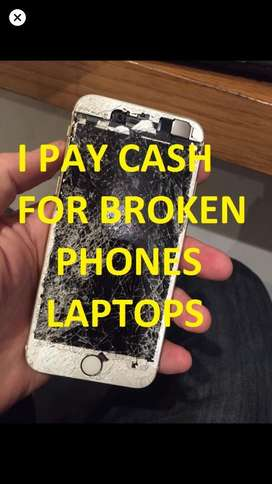 I Pay Cash for Cracked / Broken Phones