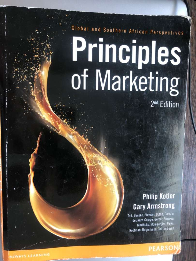 Principles of marketing 0