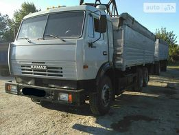 Продам КАМАЗ 53215 бортовой с прицепом