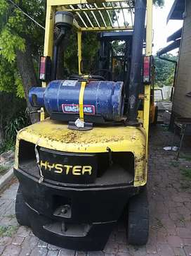 Gas hyster 2.5 ton