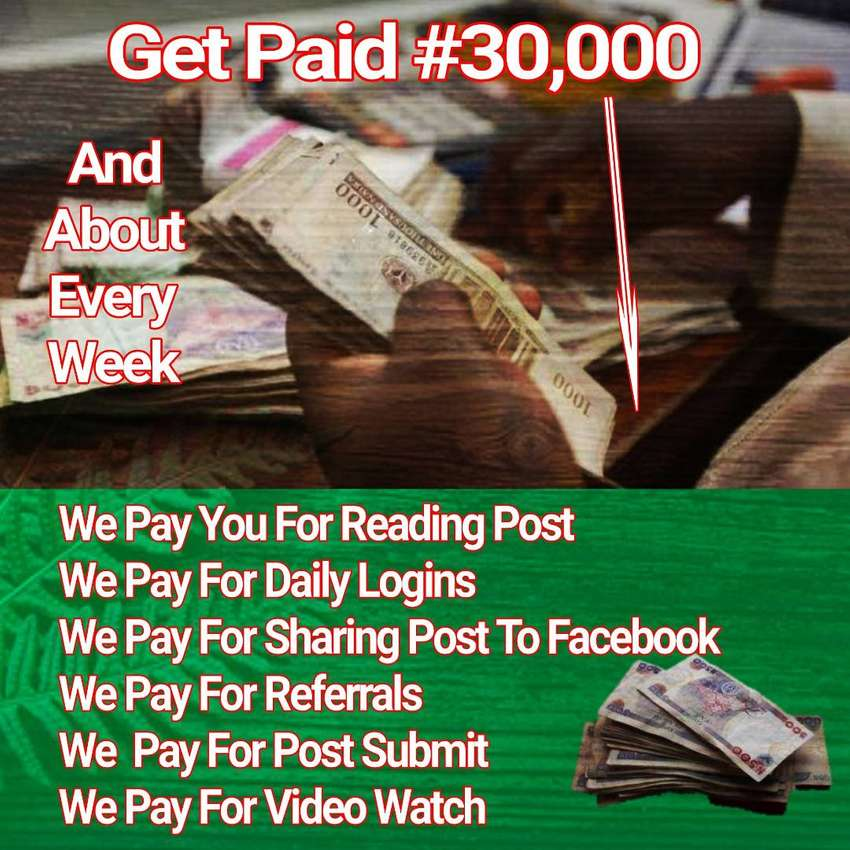 GET PAID POSTING AND READING NEWS/NOVEL AND LOT MORE 0