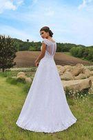 Кружевное свадебное платье р. 46 (М)