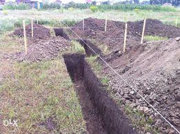 Земельные работы, Сливная яма Недорого