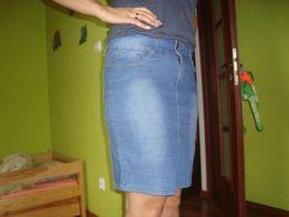 Spódnice 5 szt jeans i bawełna .
