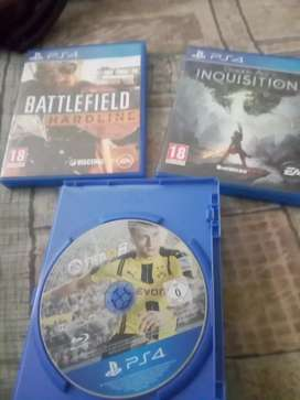 PS4 games R250 for all 3