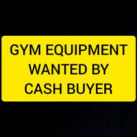 Gym Equipment Wanted!!!