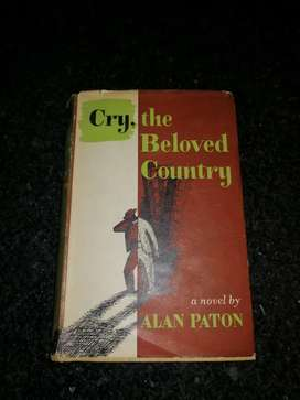 Cry, The Beloved Country - Alan Paton - First edition 1948