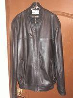 Продам куртку кожаную 58 размер