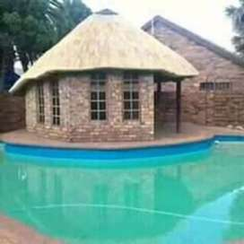 Md Thatching and lapas.
