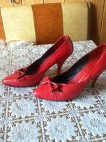 Туфли красные,лодочки