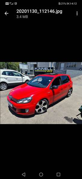 Golf 6 gti 2.0 tsi dsg for sale