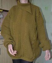 Женский зимний свитер теплый