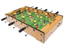 PIŁKARZYKI stołowe (drewniane) Stół do gry + piłeczki. Nowy