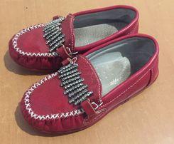 Туфли красные 25р 16 см стелька нарядные