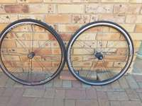 """Image of Set of Cycling wheels 26"""""""