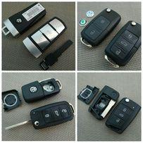 Корпус ключа VW Volkswagen Passat CC B6 B7 Jetta Golf Polo Tiguan