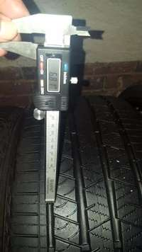 Image of Set 6.81mm 70% Tread 275/40/22 Continental Cross Contact LX Sport Tyre