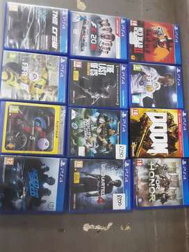 PlayStation 4 games variety