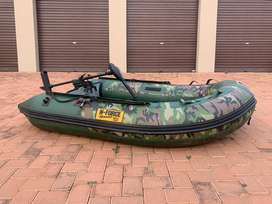 JACKEL N-Force Speed Camo boat with motor