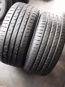 2×245/45/18 NEXEN tyres for sale it's available now