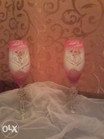 Бокалы свадебные