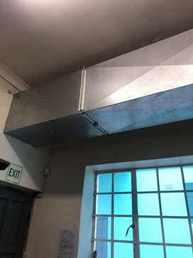 Complete Commercial Kitchen Extractor Fan (Originally worth R60 000)