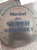 Medal dla Super Szefowej
