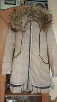 Пуховик пальто демисезонный,теплая зима
