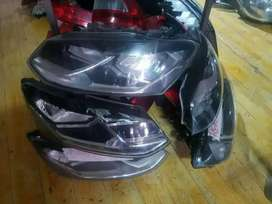 Vw polo 6 tsi normal headlights both lift&Right available for pickup
