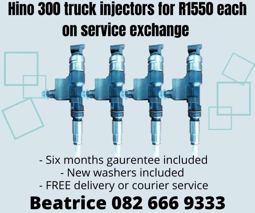 Hino 300 Truck injectors for sale