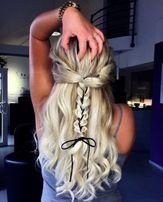 Волосы, Трессы оттенки Блонда (пшеничный, классика, пепел и т.д.)